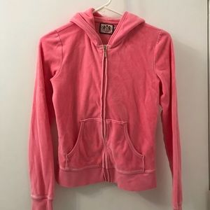Juicy couture pink hoodie in size Small